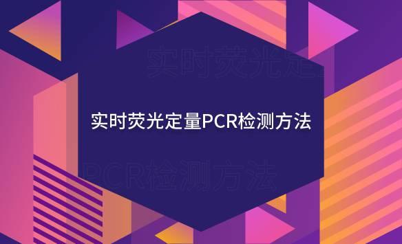 实时荧光定量PCR检测方法